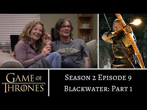 Game Of Thrones S2E9 PART 1 Blackwater REACTION