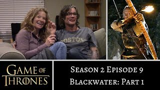 Game of Thrones S02E09 PART 1 Blackwater REACTION