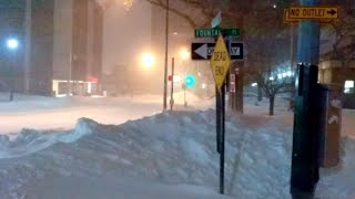 Historic Winter Storm NYC (1/23/16 BLIZZARD) - Short Film