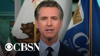 California governor on challenge of reopening theme parks
