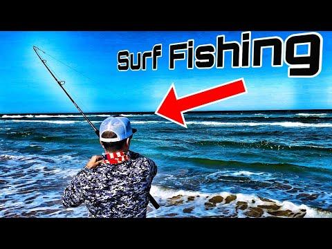South Padre Island SURF FISHING