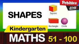 Kindergarten Maths   Learn Shapes   Preschool And Kindergarten Learning  Videos