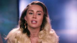 The Voice: Season 13 || Miley Cyrus Interview  || SocialNews.XYZ