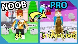 Noob To Pro! New Pet Simulator! Unlocked All Areas! - Roblox Pet Mining Simulator
