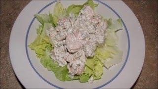 The best cold shrimp salad