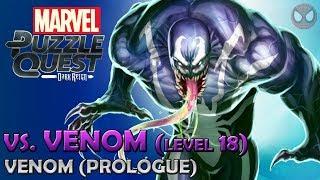 Marvel Puzzle Quest ● Spider-Man VS. Venom Lv. 18 [PC 1080p]
