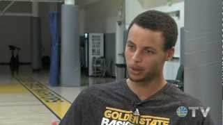 Catching Up With Stephen Curry