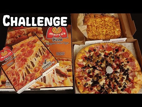 Marco's Pizza Meal Challenge