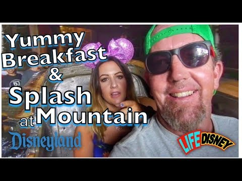Yummy Breakfast And Splash Mountain At Disneyland