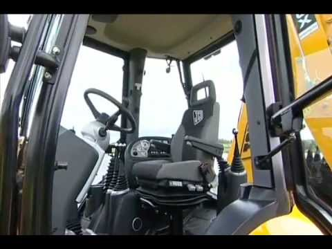 JCB Backhoe Loader - The Cabin