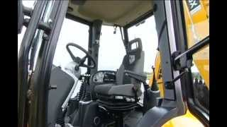 JCB Backhoe Loader   The Cabin