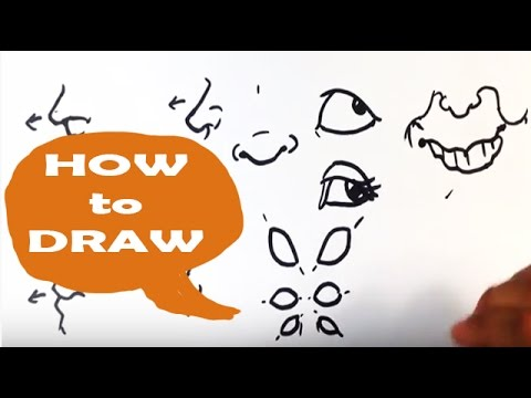 How to Draw Caricatures : Tips on Build Your Visual Library - Easy Pictures to Draw
