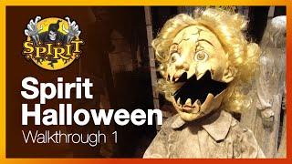 Spirit Halloween Store Walkthrough 2019 - Decorations, Animatronics, Toys, Costumes & Displays.