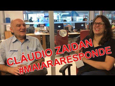 Maiara Responde #40 - Cláudio Zaidan fala sobre a imensa carreira e a vida pessoal
