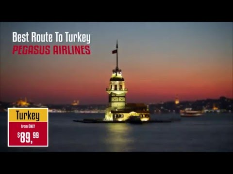 Pegasus Airlines – Discover Turkey with Pegasus – Top Attractions You Need To Visit