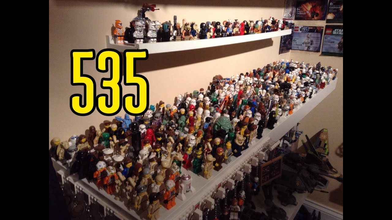 Sale On Legos Lego Star Wars Minifigure Collection 535 Different Minifigs