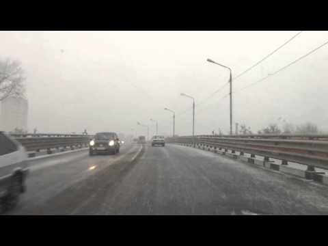 Снег. Воскресенск. 88 км.