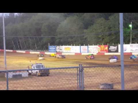 Dwarf B Main Coos Bay Speedway 6-25-2016