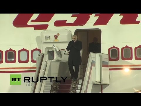 Russia: Indian PM Modi Arrives In Moscow To Seal Defence And Nuclear Deals
