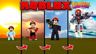 ROBLOX - BABY TO BOSS, PEW PEW SIMULATOR!!!