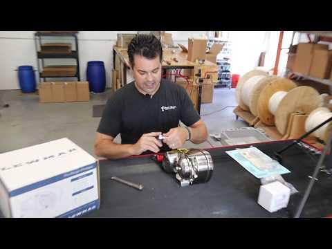 Changing The Chainwheel On The Lewmar ProFish 1000