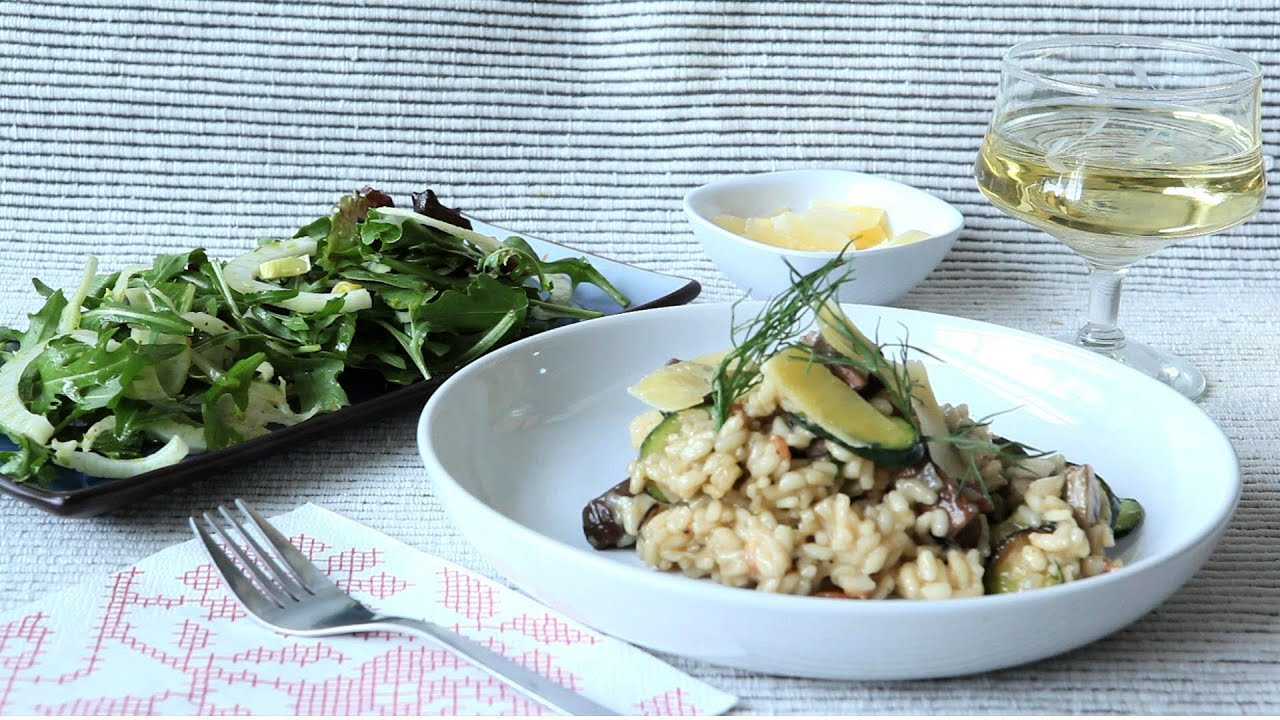 rezepte zucchini risotto gesundes essen und rezepte foto blog. Black Bedroom Furniture Sets. Home Design Ideas