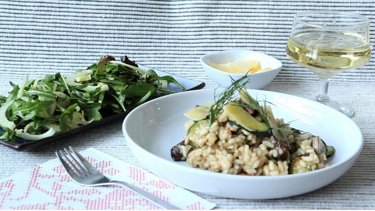 rezepte zucchini risotto gesundes essen und rezepte foto blog. Black Bedroom Furniture Sets. Home Design Ideas