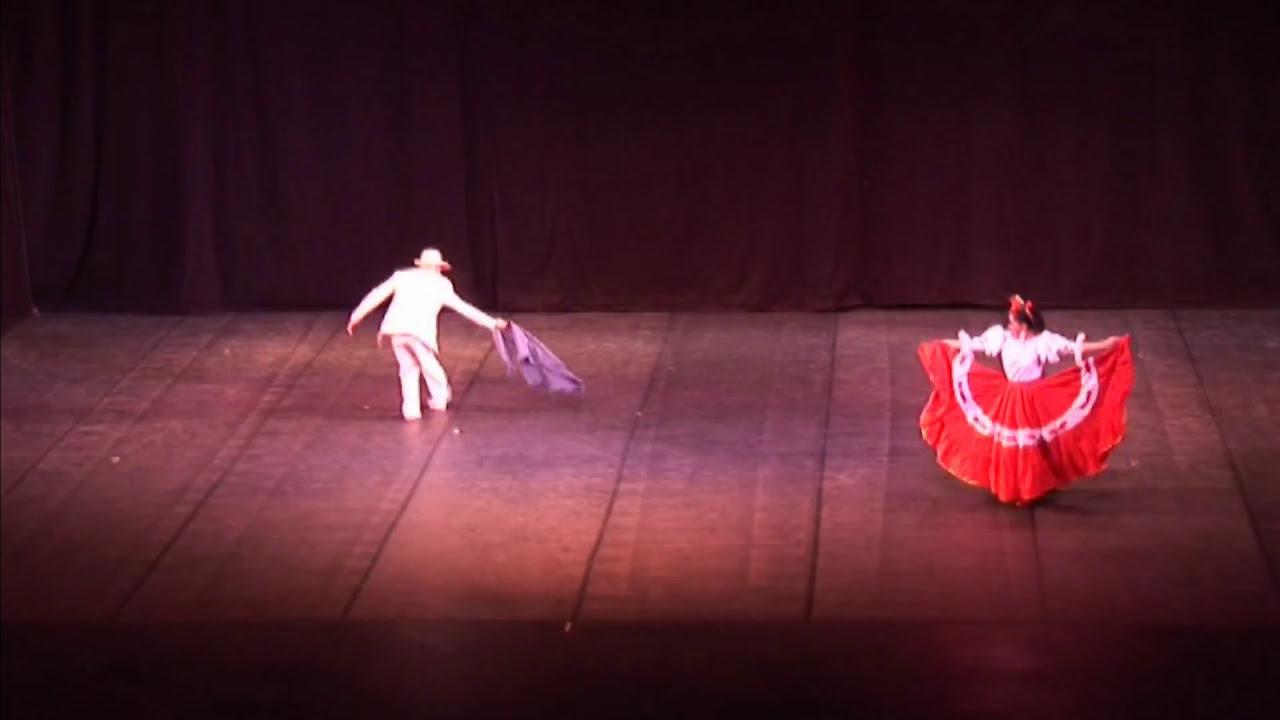 Maestros Cesar Monroy y Angélica Nieves (Danza folclórica)