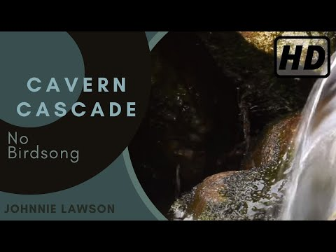 Waterfall Nature Sounds W/O Birds Singing-Relaxing Natural Sound for Sleeping-Calming Water