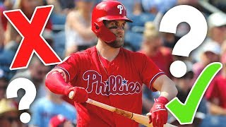 5 Reasons Why Bryce Harper Will SHINE with the Phillies... and 5 Reasons Why He Will FAIL!