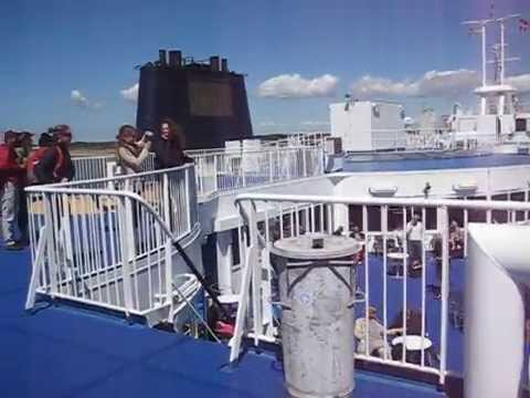 DB ICE - Kobenhavn - Hamburg - Scandlines Ferry