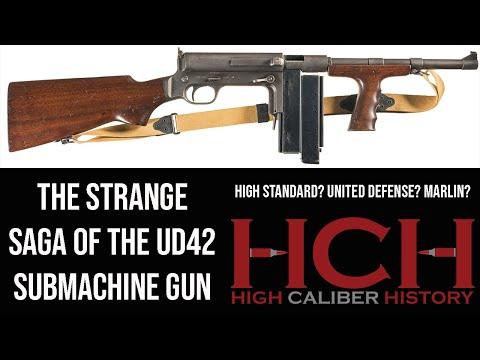 UD42 Submachine Gun