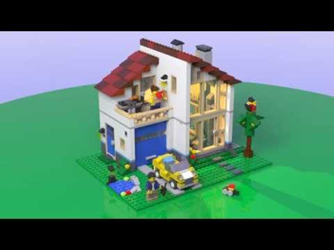 Lego 31012 - Creator Family House