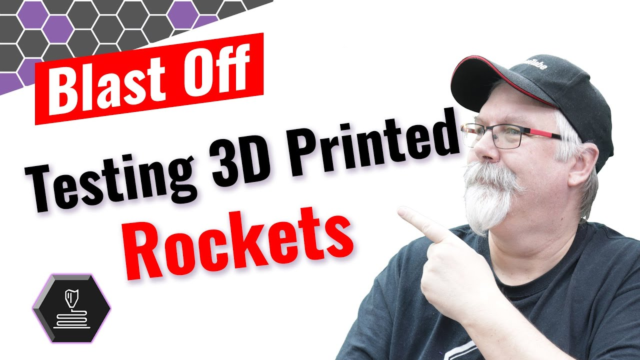 Launch Day: Blast Off with 3D printed rockets.
