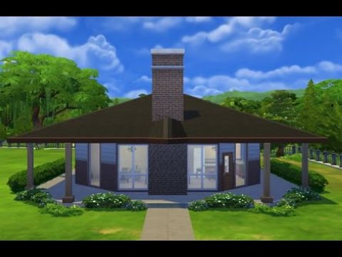 The sims 4 speed build octagon abode lets play small house for How to build an octagon house