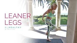 10 Leaner Leg Workouts | Rebecca Louise