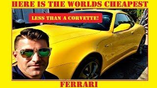 I Bought The Worlds Cheapest Ferrari Youtube