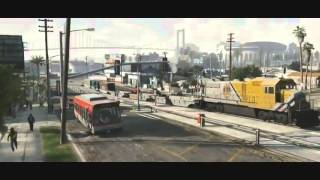 GTA 5 Трейлер на русском языке) [HD]