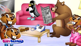 """""""Living Room Test"""" (Level 1 English Lesson 35) CLIP - House Vocabulary, Learn English, Kids English"""