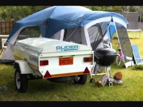 Small Car Cargo Trailer Youtube