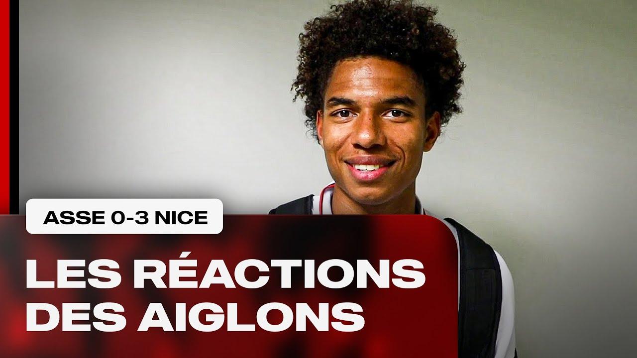 Download Les réactions de Stengs, Gouiri, Da Cunha et le coach après St Etienne-Nice (0-3)