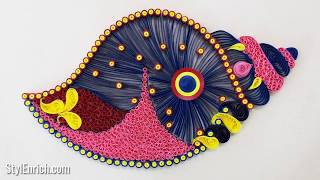 6 Quilling Designs for Your Home Decoration | Easy DIY Paper Quilling Ides for Beginners