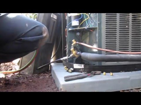 Trane XT95 and 15 SEER AC Install