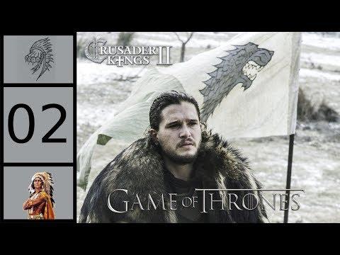 CK2 Game of Thrones - Jon Stark #2 - Winter Is Coming
