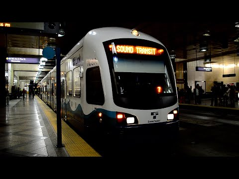 Sound Transit LINK Light Rail : A Full Ride Between SeaTac Airport & Westlake Stations