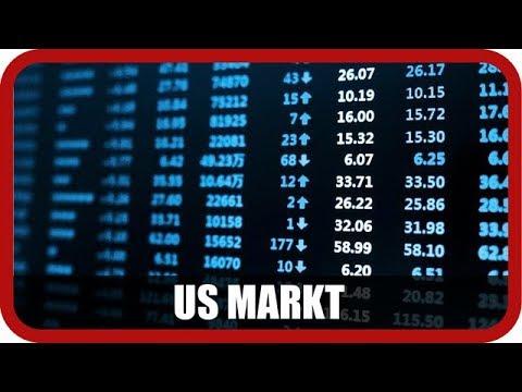 US-Markt: Dow Jones, Baidu, Apple, Huya, Momo, Alibaba, Nike