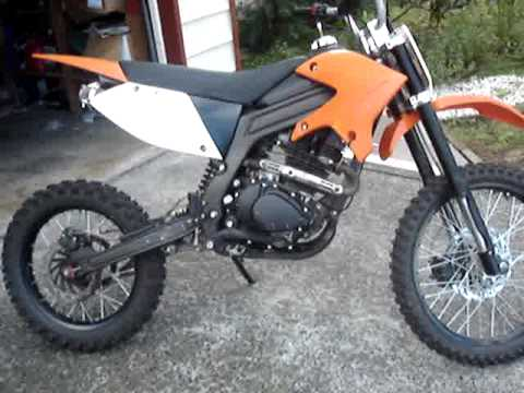 250cc Dirt Bike : 2007 dirt bike 250cc youtube ~ Kayakingforconservation.com Haus und Dekorationen