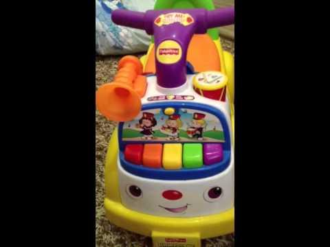 Bunayya PrelovedShop - Fisher Price Little People Music Parade Ride On