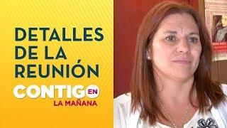 Madre de Fernanda Maciel y Luis Pettersen se reunieron con Fiscal Nacional - Contigo en La Mañana