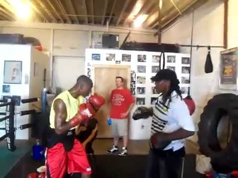Anne Wolfe working the Mitts with Black Magic